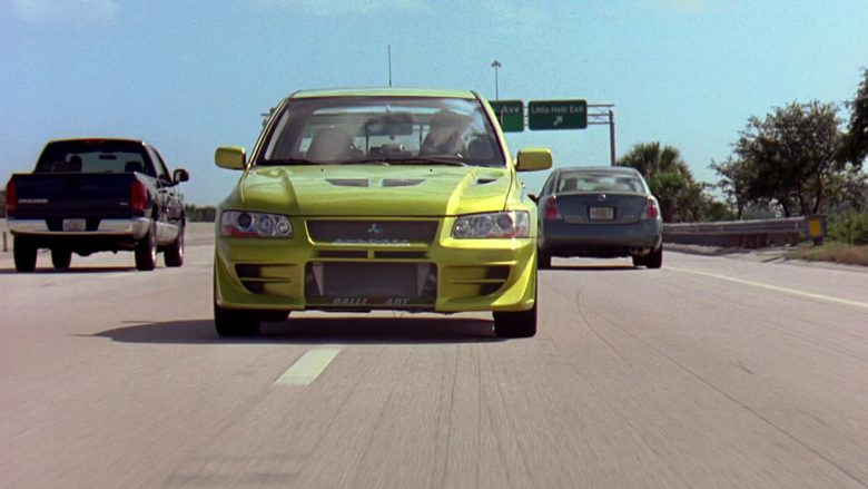 Mitsubishi Lancer Evolution VII [CT9A] Car in 2 Fast 2 Furious (11)