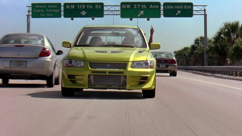 Mitsubishi Lancer Evolution VII [CT9A] Car in 2 Fast 2 Furious (12)