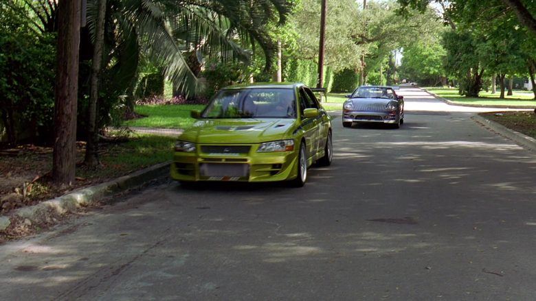 Mitsubishi Lancer Evolution VII [CT9A] Car in 2 Fast 2 Furious (5)