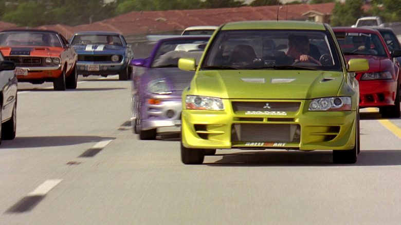 Mitsubishi Lancer Evolution VII [CT9A] Car in 2 Fast 2 Furious (7)