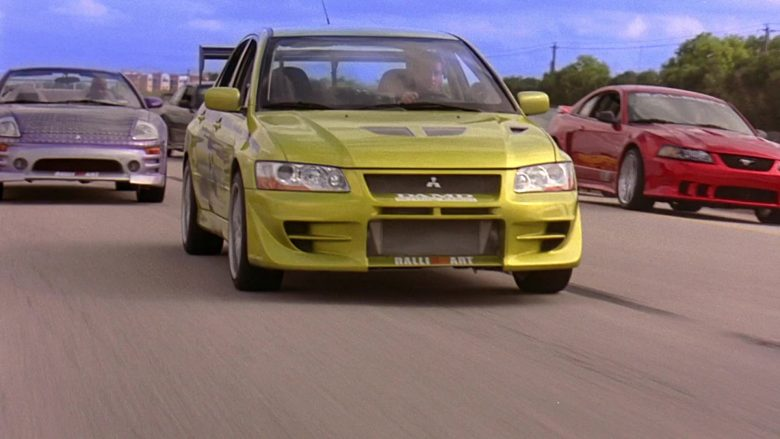 Mitsubishi Lancer Evolution VII [CT9A] Car in 2 Fast 2 Furious (8)