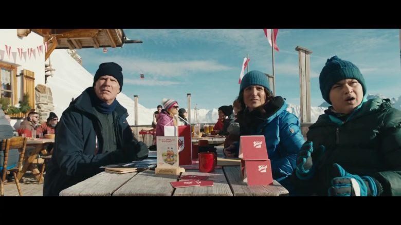 Moncler Blue Jacket For Women Worn by Julia Louis-Dreyfus in Downhill (1)