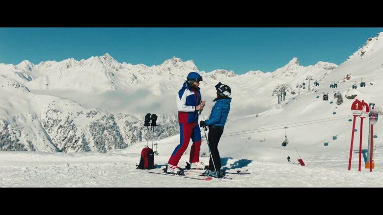 Moncler Blue Jacket For Women Worn by Julia Louis-Dreyfus in Downhill (3)