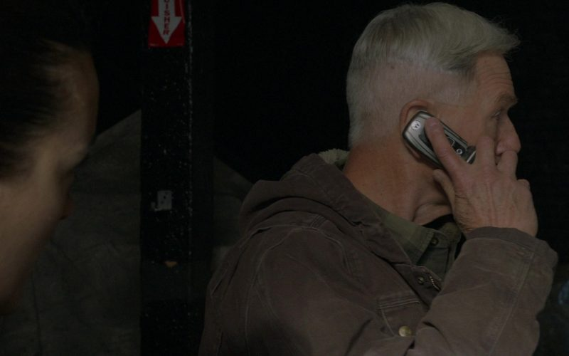 Motorola Cell Phone Used by Mark Harmon as Leroy Jethro Gibbs in NCIS Season 17 Episode 10 The North Pole