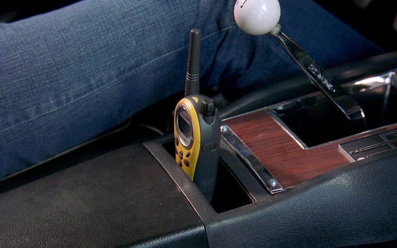 Motorola Yellow Radio in 2 Fast 2 Furious