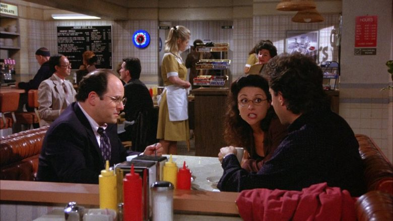 Mounds and Snickers Bars in Seinfeld Season 6 Episode 3 (1)