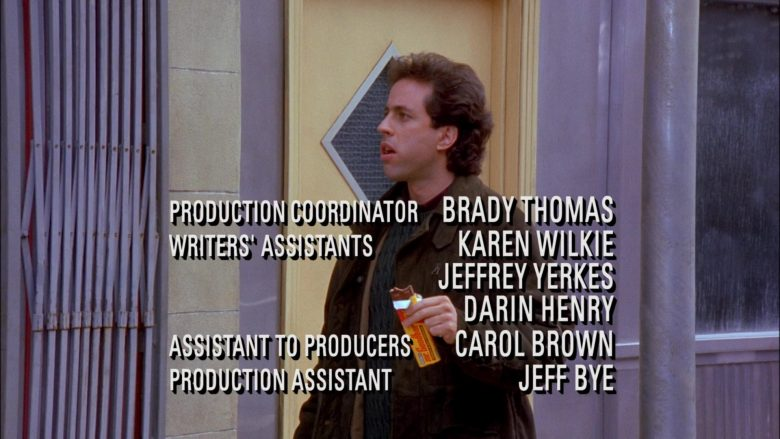 Mr. Goodbar Chocolate Bar Enjoyed by Jerry Seinfeld in Seinfeld Season 6 Episode 19 (1)