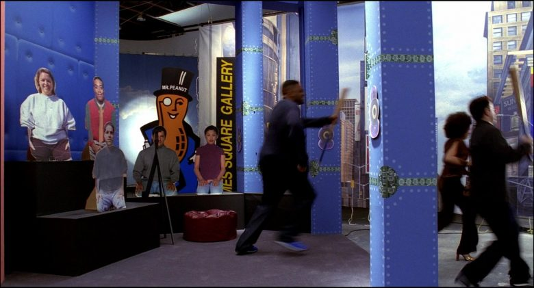 Mr. Peanut is the advertising logo and mascot of Planters in Josie and the Pussycats (3)