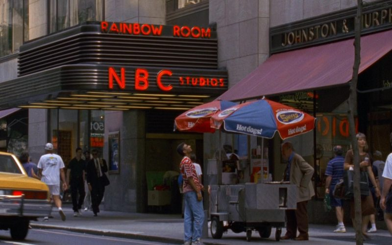NBC Studios and Shofar Hot Dogs in Seinfeld Season 9 Episodes 23-24 The Finale