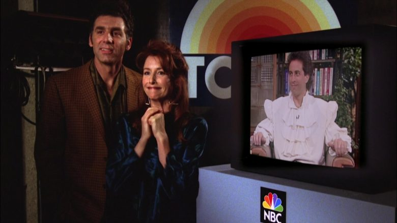 NBC Today American Talk Show in Seinfeld Season 5 Episode 2 The Puffy Shirt (2)