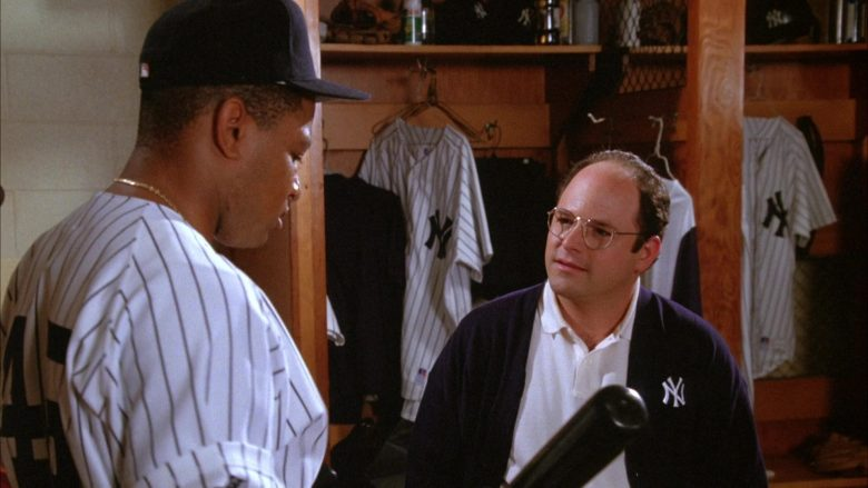 NY Yankees Baseball Team in Seinfeld Season 6 Episode 1 The Chaperone (3)