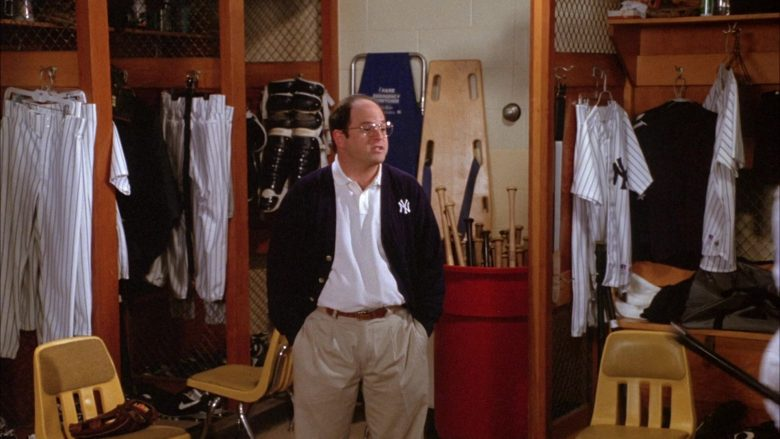 NY Yankees Baseball Team in Seinfeld Season 6 Episode 1 The Chaperone (5)