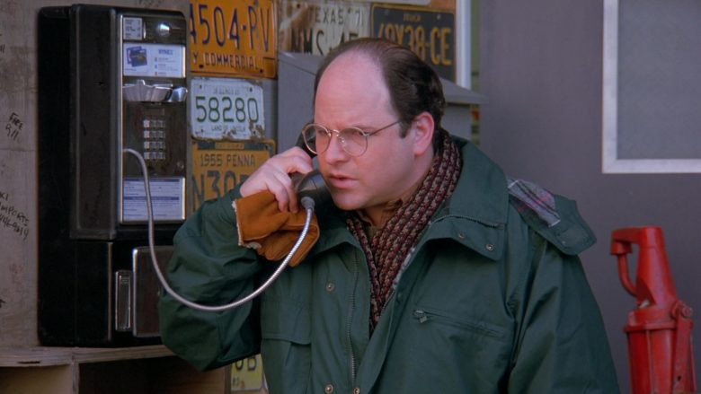 NYNEX Payphone Used by Jason Alexander as George Costanza in Seinfeld Season 7 Episode 12 The Caddy