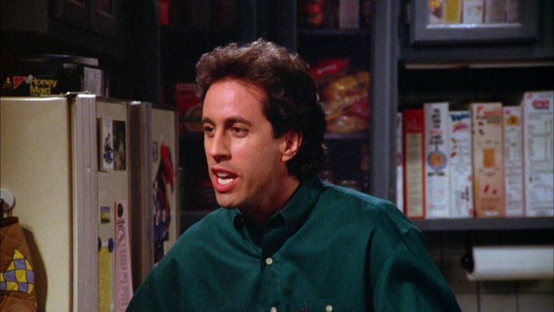 Nabisco Honey Maid Crackers in Seinfeld Season 5 Episode 18-19 The Raincoats (3)