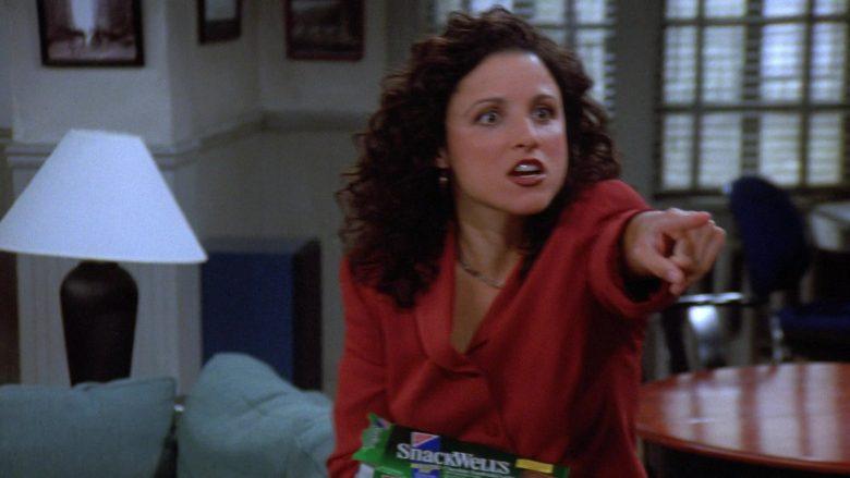 Nabisco Snackwell's Devils Food Cookies Enjoyed by Julia Louis-Dreyfus as Elaine Benes in Seinfeld Season 7 Episode 4 (1)