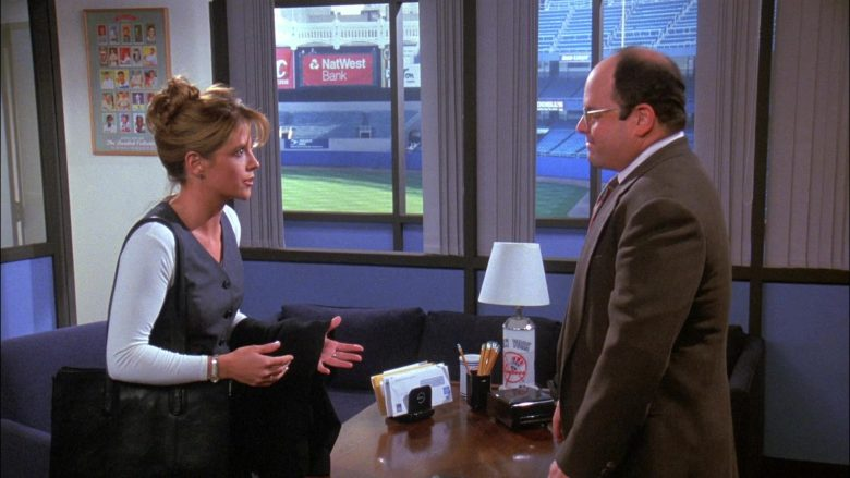 NatWest Bank in Seinfeld Season 8 Episode 5 The Package