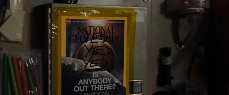 National Geographic Magazine in Ad Astra (2019) - Movie Product Placement