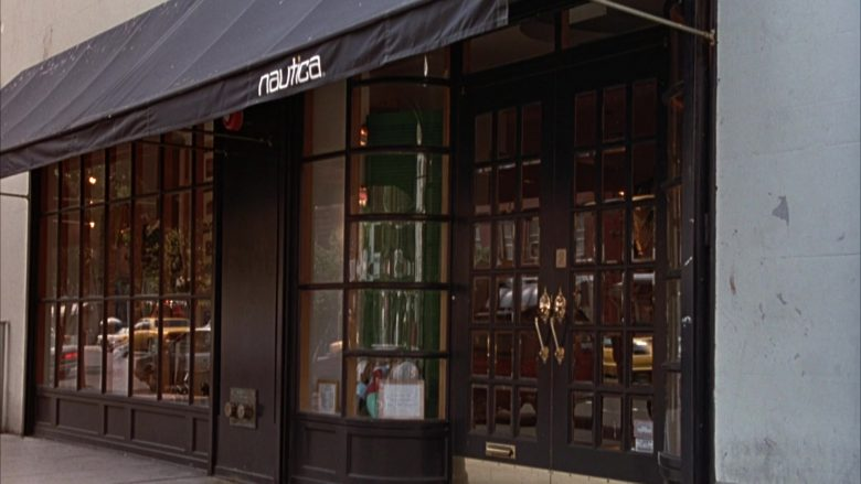 "Nautica Apparel Store in Seinfeld Season 3 Episode 12 ""The Red Dot"" (1991) - TV Show Product Placement"
