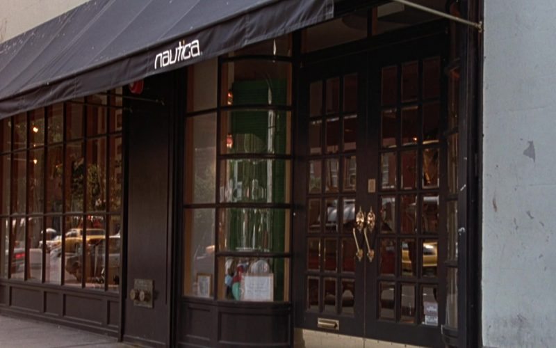 Nautica Apparel Store in Seinfeld Season 3 Episode 12 The Red Dot (1)