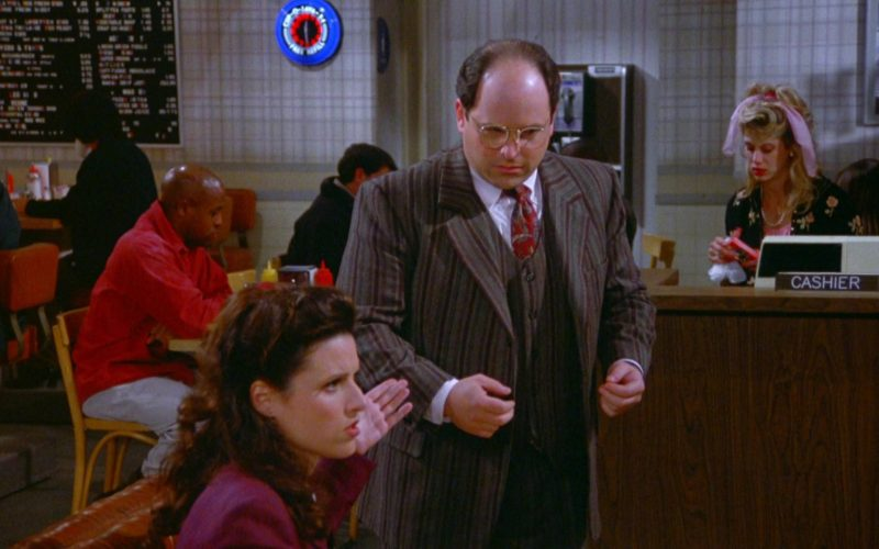 Nautica Men's Suit Worn by Jason Alexander as George Costanza in Seinfeld Season 5 Episode 15 (5)