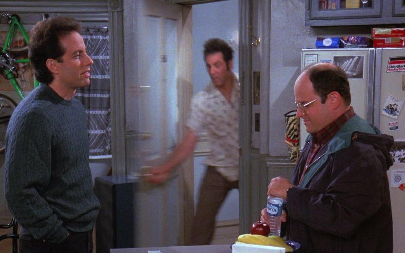 Naya Water Enjoyed by Jason Alexander as George Costanza in Seinfeld Season 8 Episode 4