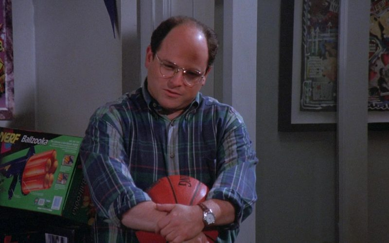 Nerf Ballzooka Nlaster Used by Jason Alexander as George Costanza in Seinfeld Season 7 Episode 8 The Pool Guy