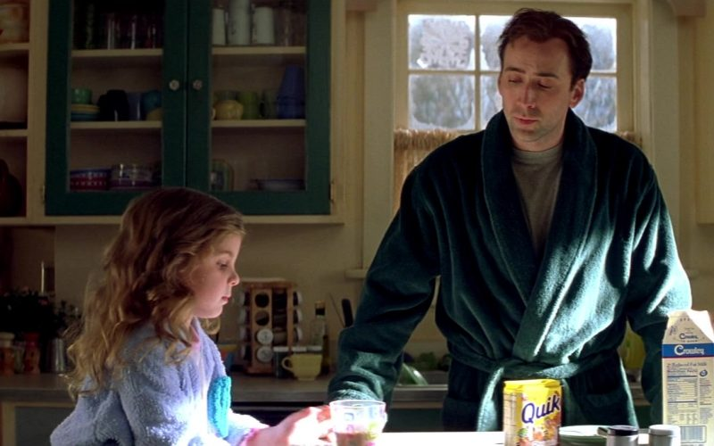 Nestle Quik and Crowley Milk Enjoyed by Makenzie Vega & Nicolas Cage in The Family Man