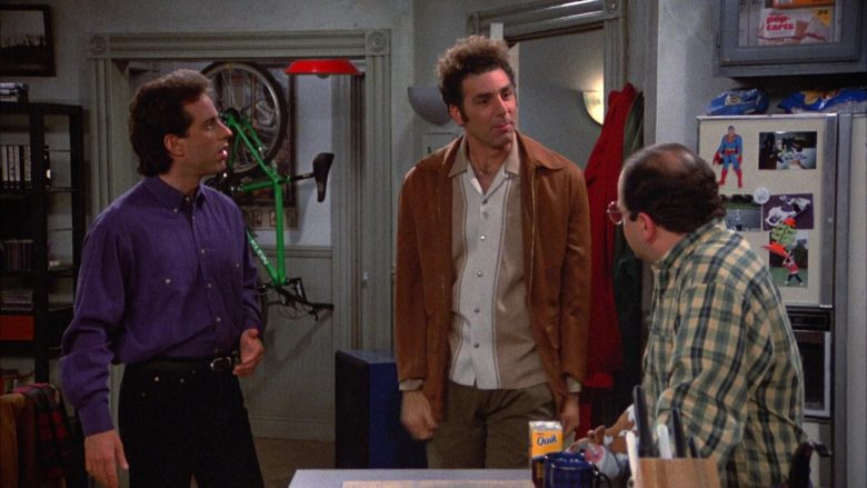 "Nestle Quik in Seinfeld Season 4 Episode 16 ""The Shoes"" (1993) - TV Show Product Placement"