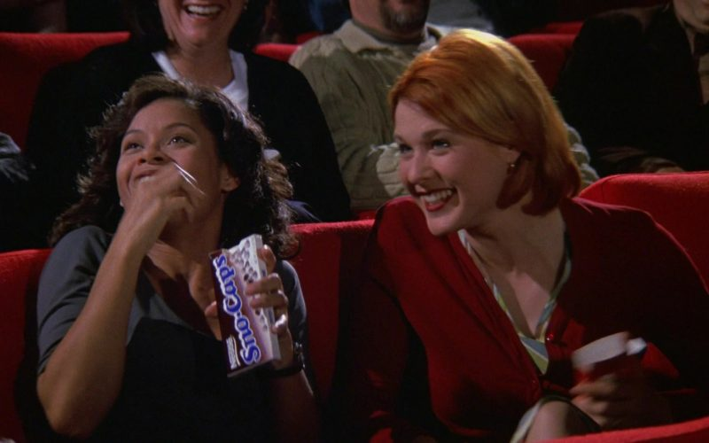 Nestle Sno-Caps Candies in Seinfeld Season 9 Episode 20 The Puerto Rican Day