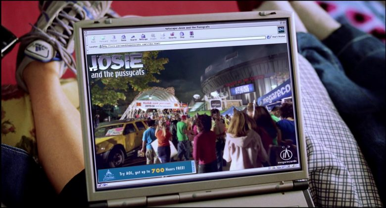 Netscape WEB Browser in Josie and the Pussycats (2)