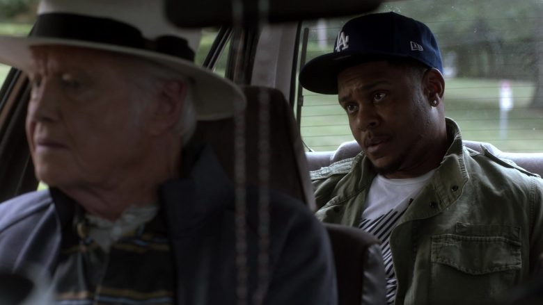 """New Era x Los Angeles Dodgers Blue Cap Worn by Pooch Hall as Daryll in Ray Donovan Season 7 Episode 5 """"An Irish Lullaby"""" (2019) - TV Show Product Placement"""