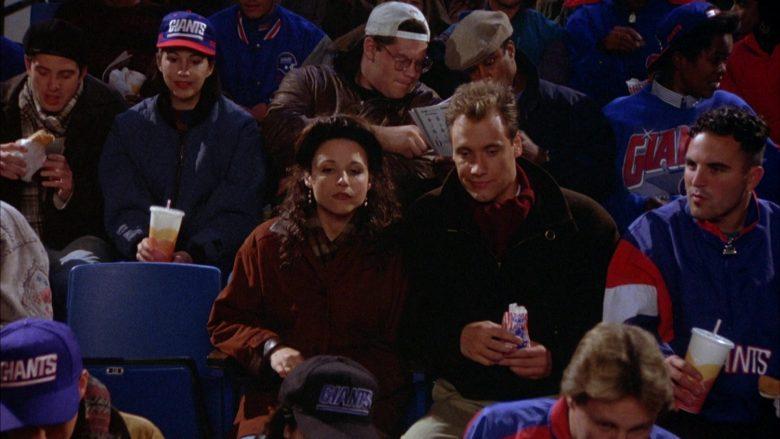 New York Giants in Seinfeld Season 5 Episode 9 The Masseuse (5)
