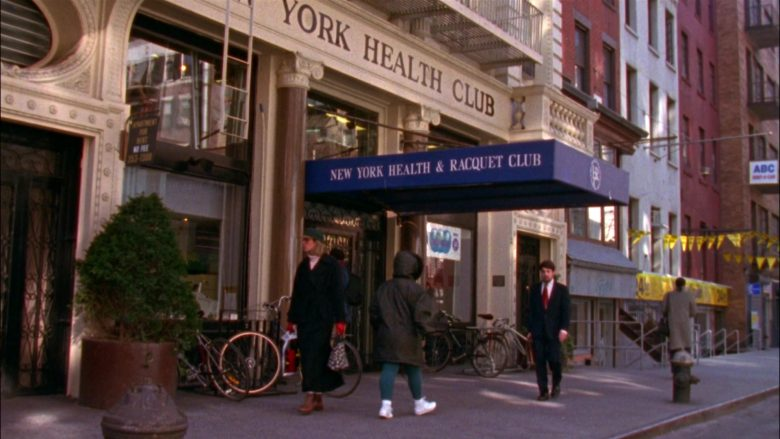 New York Health & Racquet Club in Seinfeld Season 5 Episode 17 The Wife (3)