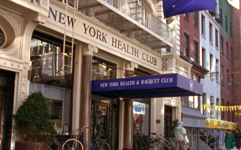 New York Health and Racquet Club in Seinfeld Season 6 Episode 19 The Jimmy (1)