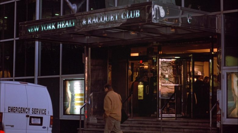 New York Health and Racquet Club in Seinfeld Season 8 Episode 13 The Comeback