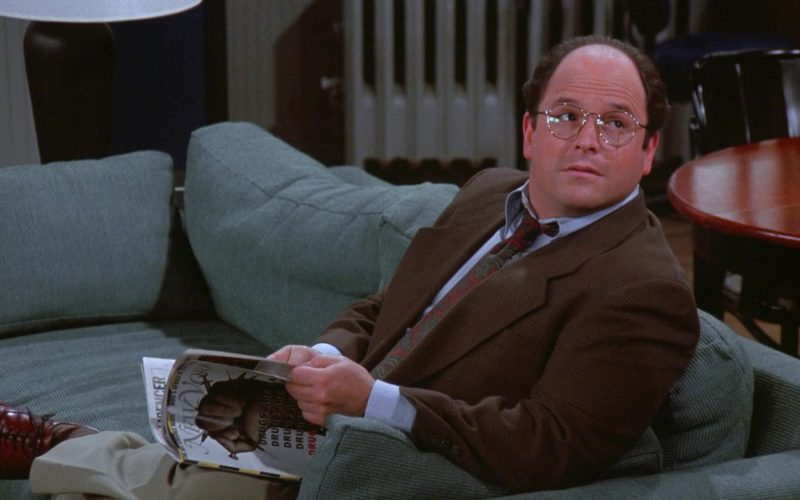 New York Magazine Held by Jason Alexander as George Costanza in Seinfeld Season 7 Episode 18