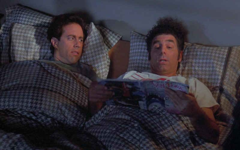 New York Magazine Held by Michael Richards as Cosmo Kramer in Seinfeld Season 7 Episode 19 (1)