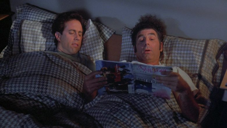 New York Magazine Held by Michael Richards as Cosmo Kramer in Seinfeld Season 7 Episode 19 (2)