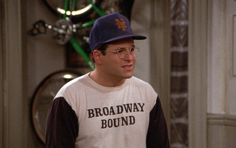 New York Mets Cap Worn by Jason Alexander as George Costanza in Seinfeld Season 3 Episode 11