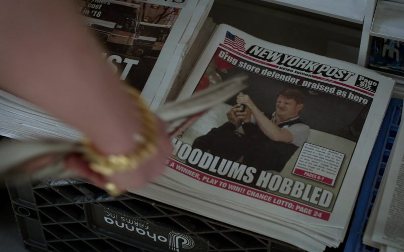 New York Post Newspaper in Ray Donovan Season 7 Episode 3 Family Pictures