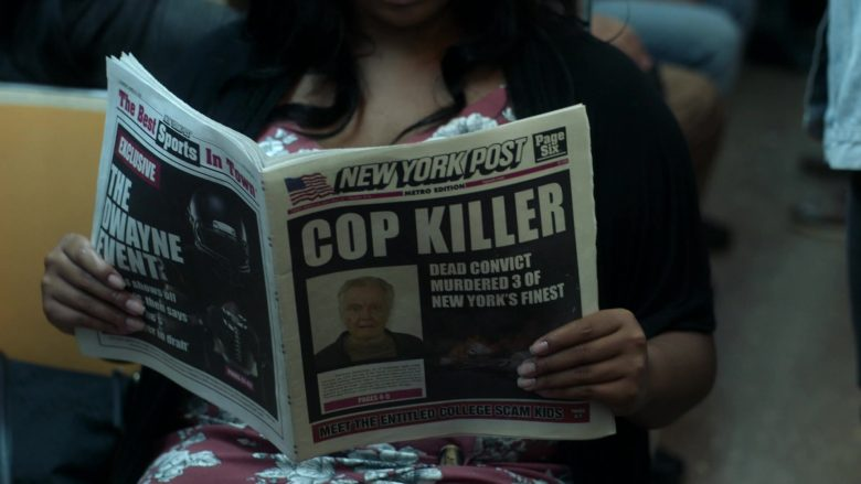 New York Post Newspaper in Ray Donovan Season 7 Episode 4 Hispes (2019)