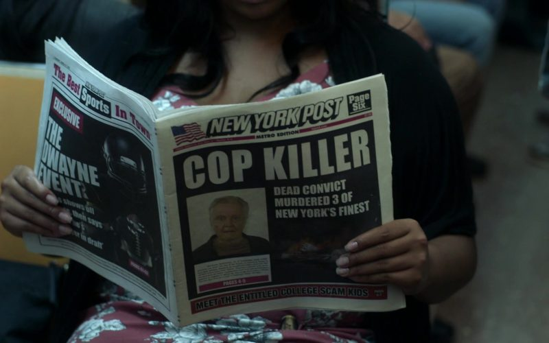 New York Post Newspaper in Ray Donovan Season 7 Episode 4 Hispes (2019)