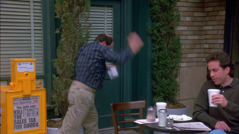 New York Post Newspapers in Seinfeld Season 8 Episode 22 The Summer of George