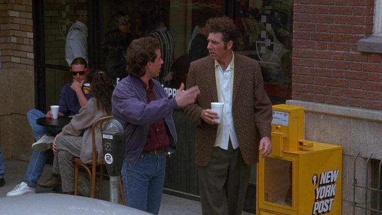 New York Post in Seinfeld Season 7 Episode 2 The Postponement (1)