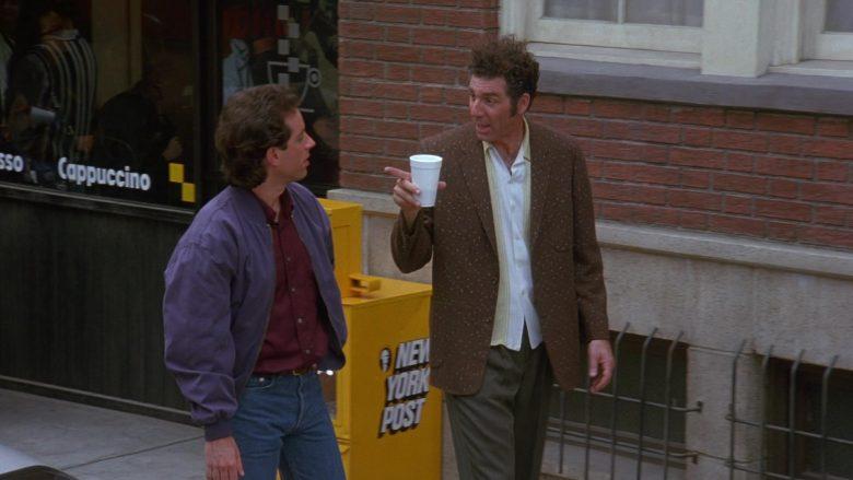 New York Post in Seinfeld Season 7 Episode 2 The Postponement (2)