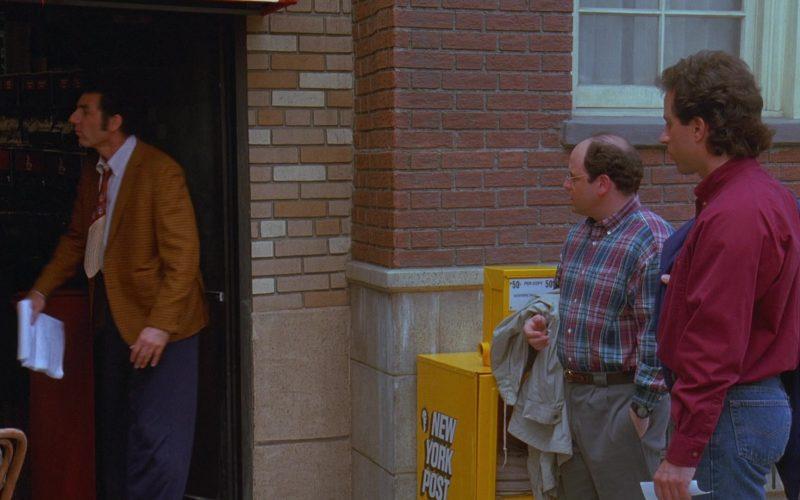 New York Post in Seinfeld Season 7 Episode 3 The Maestro (1)