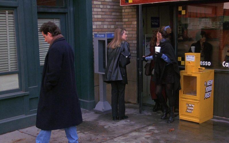 New York Post in Seinfeld Season 8 Episode 14 The Van Buren Boys