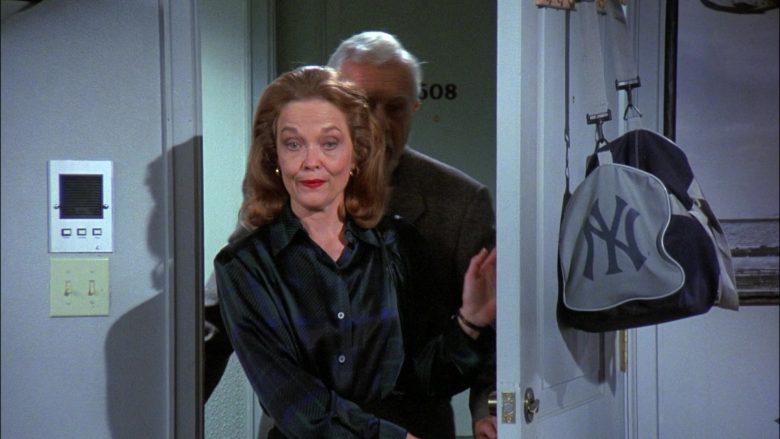 New York Yankees Baseball Team Bag in Seinfeld Season 8 Episode 1 The Foundation