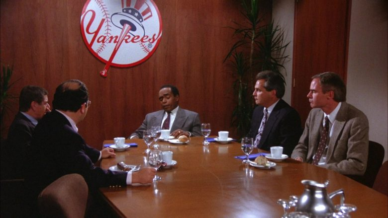 New York Yankees in Seinfeld Season 6 Episode 3 The Pledge Drive
