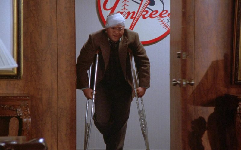 New York Yankees in Seinfeld Season 7 Episode 12 The Caddy
